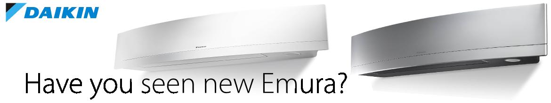 New Daikin Emura